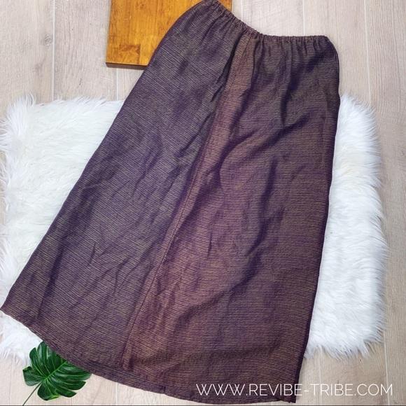 Eileen Fisher Dresses & Skirts - Eileen Fisher   Silk Purple Iridescent skirt  2389